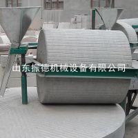 振德 稻谷专用电动石碾 家用小型小米脱皮机 面粉石碾机
