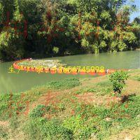 河道拦污/水面高效塑料拦污浮筒批发
