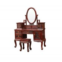 古典中式卧室梳妆台/东阳黑酸枝红木家具厂家/淡然居红木