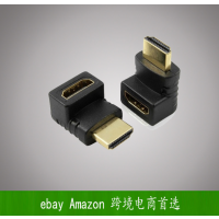 厂家直供 伟星 HDMI转HDMI 音视频 转接头 连接器 270度