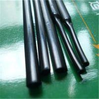 厂家直销 PVDF阻燃热缩管 175°C耐高温热缩管 黑色分离氯离子热缩管