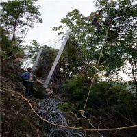 拦石头被动防护网在哪里采购@安首边坡被动防护网厂家