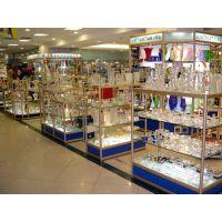 钛合金展示柜钛合金玻璃展示柜图片精品展示柜尺寸钛合金货架展示柜价格