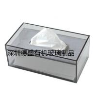 深圳德盛亚克力纸巾盒 家具抽纸盒 酒店用品纸巾盒