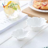 华欣迪礼品陶瓷 2017新品 创意陶瓷小吃碟甜品碟酱料碟餐具系列