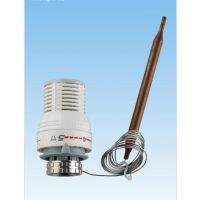 厂家直供地暖铜散热器H型恒温阀厂家,地热远程控制散热器恒温阀头