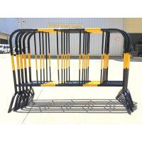 供应施工铁马铁护栏黄黑围栏——长沙嘉琪交通设施专款设计