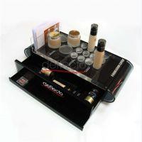 亚克力化妆品收纳架 护肤品展示架 有机玻璃收纳架定做