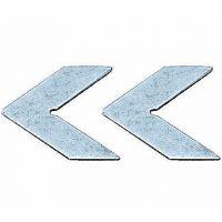 牌镀锌组角片断桥铝复合二合一门窗金圆达型材连接片