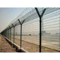 机场码头防护护栏网、飞机场隔离网、公路铁路围栏网、润昂定制