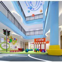 专注儿童空间,幼儿园设计哪家服务更好郑州幼儿园装修设计,蓝色木棉