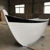 山东木船厂家定制酒店商场船型吧台 收银船 特色景观装饰船多少钱一艘 木质摆件