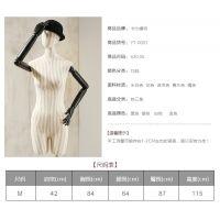 包布模特 全身人体陈列道具 玻璃钢女模