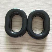 生产可填充果冻硅胶皮耳套 高周波热压成型耳机耳套吸音海绵