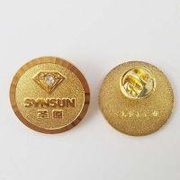济南学校logo徽章专业定制,优质金属徽章制作厂家