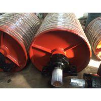 河北传动滚筒厂家 矿山带式输送机DTII03A4104包胶滚筒