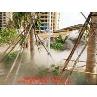三亚喷雾降温公司山海墅景观人造雾降温景观建设免费设计方案