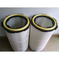 电子厂烟尘除尘滤筒 阻燃除尘滤芯