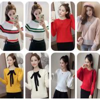 便宜女式毛衣地摊货韩版女士毛衣批发杂款毛衣批发工厂直销