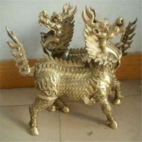 铜雕狮子麒麟貔貅铜雕神兽