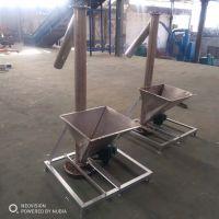 合肥自动吸料机黄沙瓷粉螺旋提升机 有轴蛟龙螺旋输送机中天