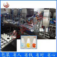 内蒙古盒装酸奶封口包装机 老酸奶灌装封口机 保质期长