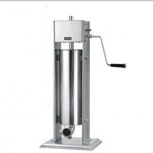立式手摇灌香肠机器厂家|卧式家用手摇腊肠机器|北京加工制作香肠机设备