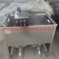 多款式油豆串油炸机 炸油豆串油炸设备昊东专业厂家