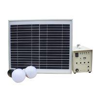 10W太阳能家用发电系统 便携式户外照明发电机组 厂家直销