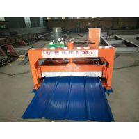 彩钢板900型全自动单板压瓦机博远现货供应