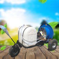 牵引式风送式打药机 自走式柴油汽油动力喷药机 喷洒均匀果园施药打药机