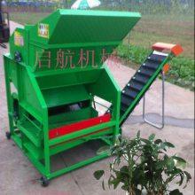 东北鲜花生摘果机 启航牌干湿两用摘果机价格