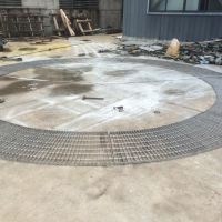 耀恒 厂家直销精密不锈钢钢格栅板 圆形不锈钢水沟盖钢格栅板
