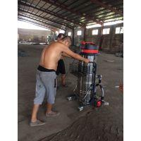 环氧地坪车间吸灰尘用吸尘器威德尔手推式粉尘吸尘机WX-3610P