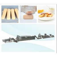 夹心米果麦烧各类膨化休闲食品生产设备