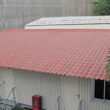 江西赣州树脂瓦厂家直销 仿古别墅隔热瓦片 屋顶工程彩瓦