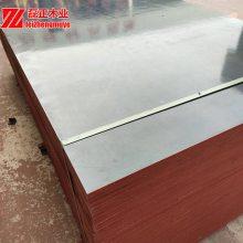 厂家直销河北衡水工地用三六尺黑膜建筑模板周转次数高三利板材