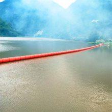 水电站拦污排 易安装拦污栅浮筒 柏泰环保塑料浮体