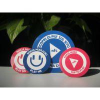 专业生产铜版纸PET电子标签 智能消费RFID 游乐场景区电子门票