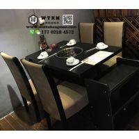 天津韩式烤涮一体桌 自助烤涮一体桌
