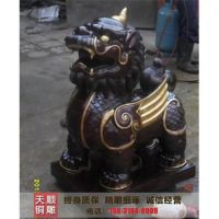 天顺雕塑(图)|镇宅纳财铜貔貅|北京貔貅