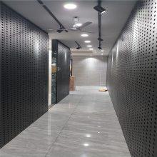 洞洞板瓷砖挂钩展架 金属铁板展示架怎么定做 长治市陶瓷方型孔展架 挂钩