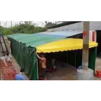 钦州定制伸缩式遮阳棚移动大排档帐篷大型储物棚彩钢瓦棚推拉帐篷移动雨篷