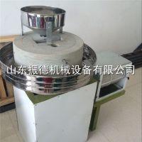 燕麦加工设备 面粉电动石磨机 石磨面粉机 振德牌