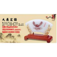 广州玉屏风摆件,玉石摆件 开业礼物-环典