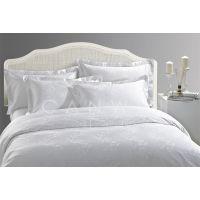 南通酒店布草厂家批发白色纯棉床单被罩被套高支高密60s