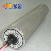 厂家直销|定制|电动滚筒|天津调速滚筒|输送线|宏创|锥形|包胶滚筒厂家|不锈钢弯道辊筒