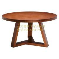 众美德简约现代餐厅水曲柳实木餐桌,定做家具桌子,酒店餐桌椅组合可定制