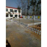塑钢草坪花圃护栏 新农村建设绿化护栏 PVC围墙护栏厂家现货供应
