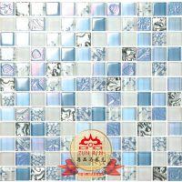 水晶镜面玻璃马赛克瓷砖电视背景墙吧台装饰金色客厅玄关墙面贴